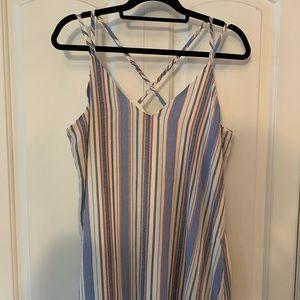 NWT Xilaration Striped Slip Dress